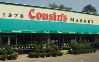 Photo courtesy of Cousins Gourmet Market