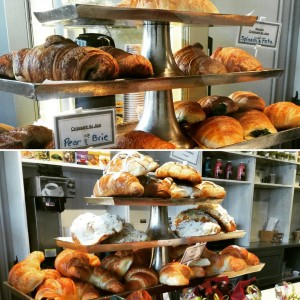 It will be Christmas morning in Paris, thanks to the delicious sweet and savory croissants from Le Delice.